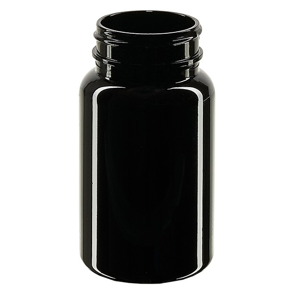 Pot Petpacker ambré 100 ml, goulot 38 mm sans couvercle
