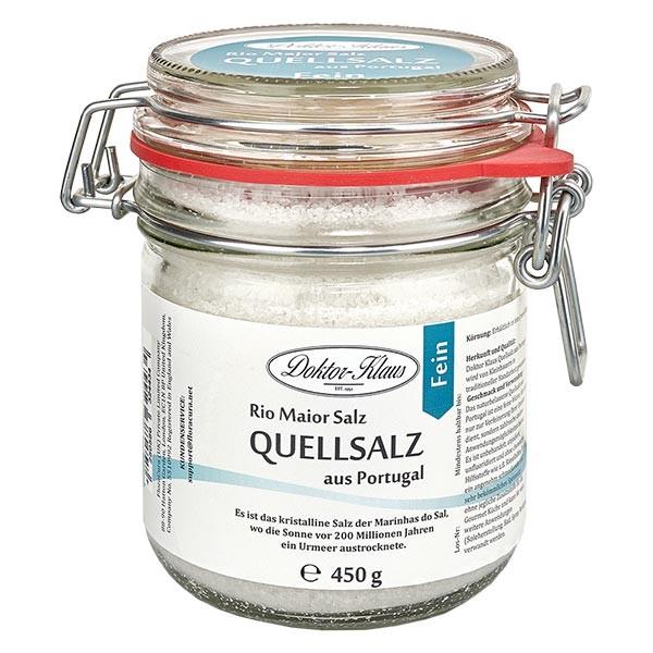 Sel de source 450 g (sel gourmet) du Portugal