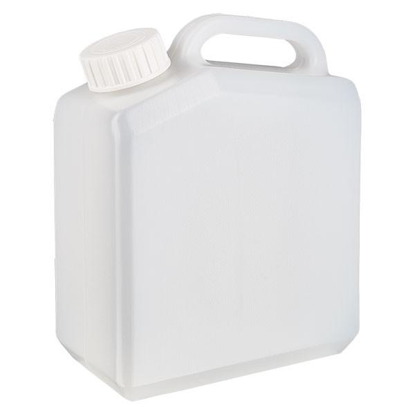 Jerrican de 2,5 litres avec bouchon à vis