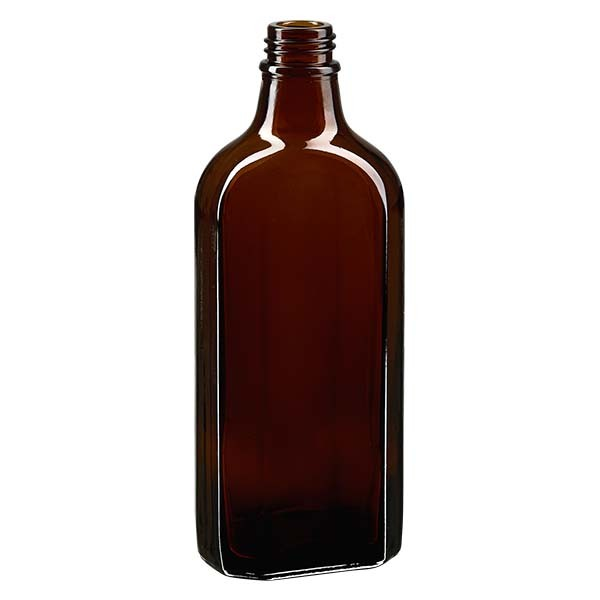 Flasque brune de 200 ml au goulot DIN 22