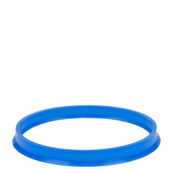 Bague anti-gouttes bleue - filetage GL 45