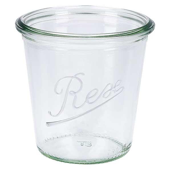 Mini bocal conique WECK 290 ml, taille de couvercle et anneau : RR80