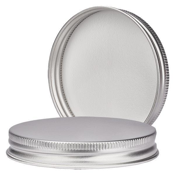 Couvercle à vis en aluminium, 63mm/R3