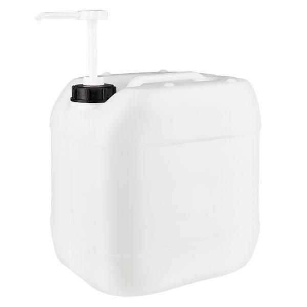 Jerrican de 15 litres avec pompe doseuse