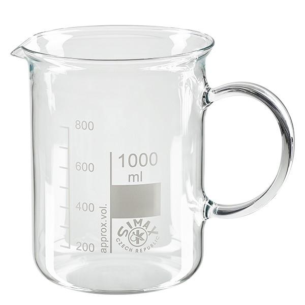 Becherglas 1000ml mit Henkel