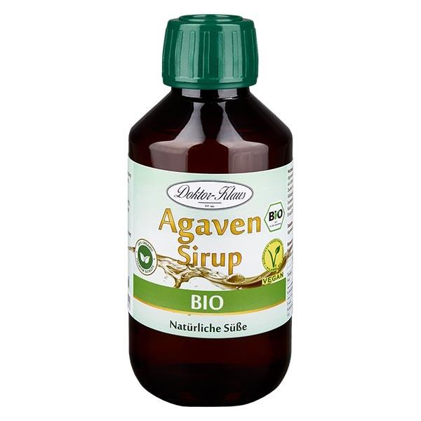 Sirop d'agave bio 200 ml en bouteille PET ambrée