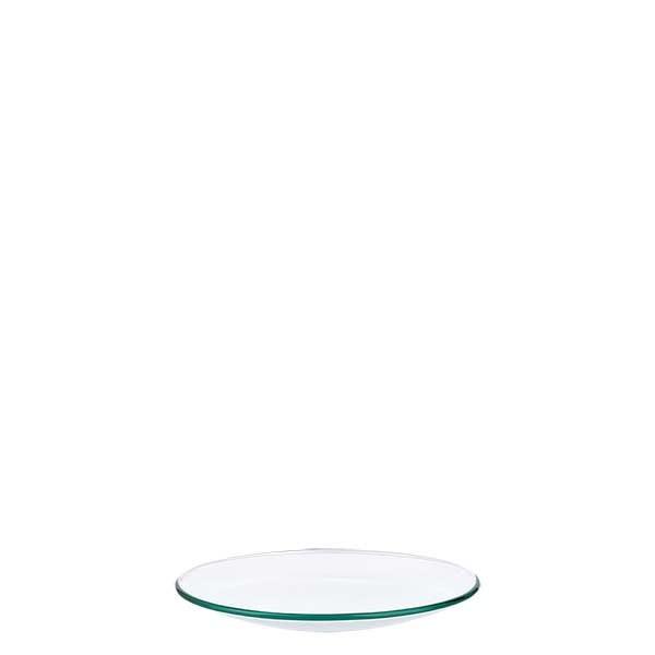 Verre de montre 60 mm - verre borosilicate 3.3 - bord fondu