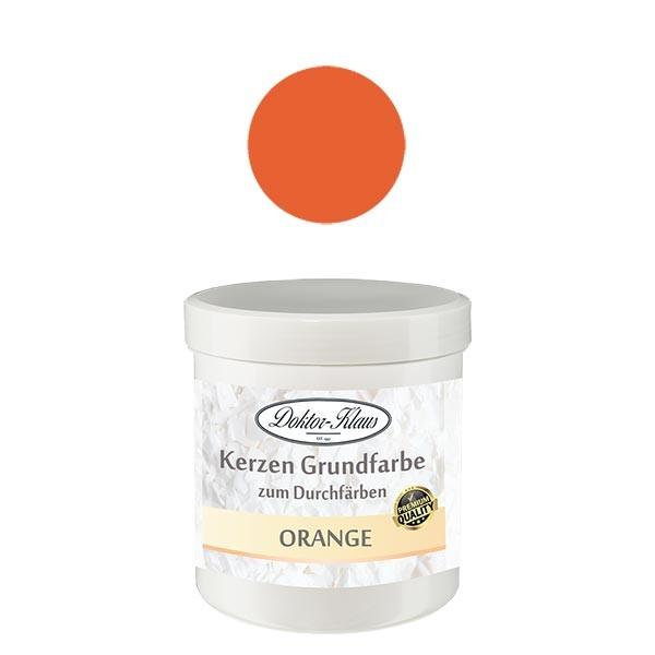 Couleur de base pour bougie orange Doktor-Klaus, 7 g, en pot