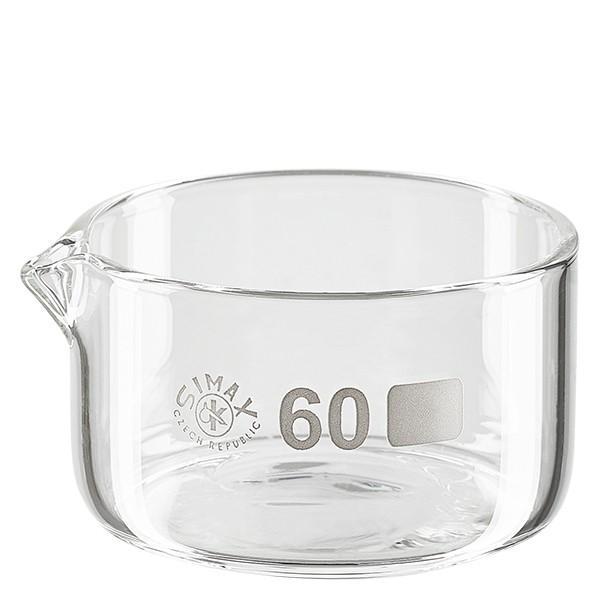 Coupelle de cristallisation 60 ml avec bec verseur