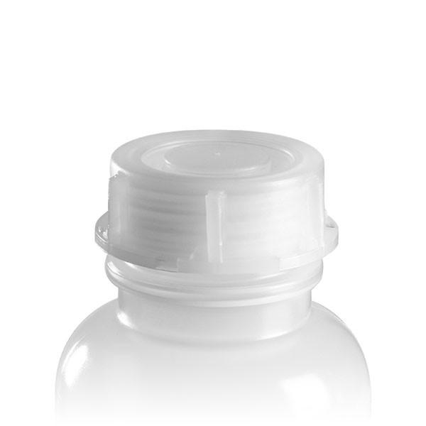 Schraubverschluss 40mm transparent für Weithals-Laborflaschen 250ml