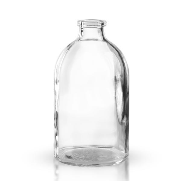 Injektionsflasche Klarglas 100ml
