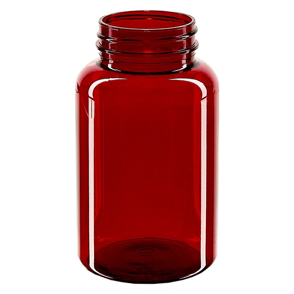 Pot Petpacker rouge 250 ml, goulot 45 mm sans couvercle