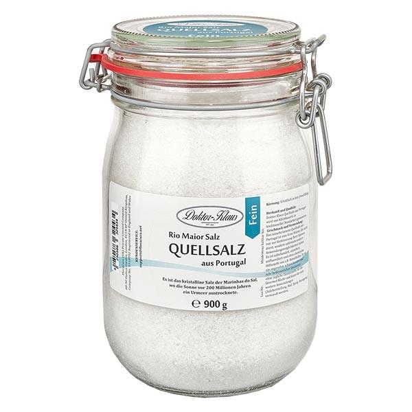 Sel de source 900 g (sel gourmet) du Portugal