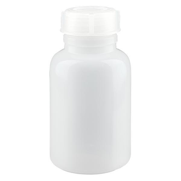 Flacon à col large 250 ml avec bouchon