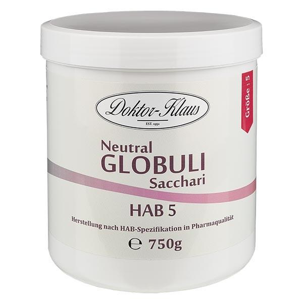 750g globules neutres HAB5, 100 % pure saccharose