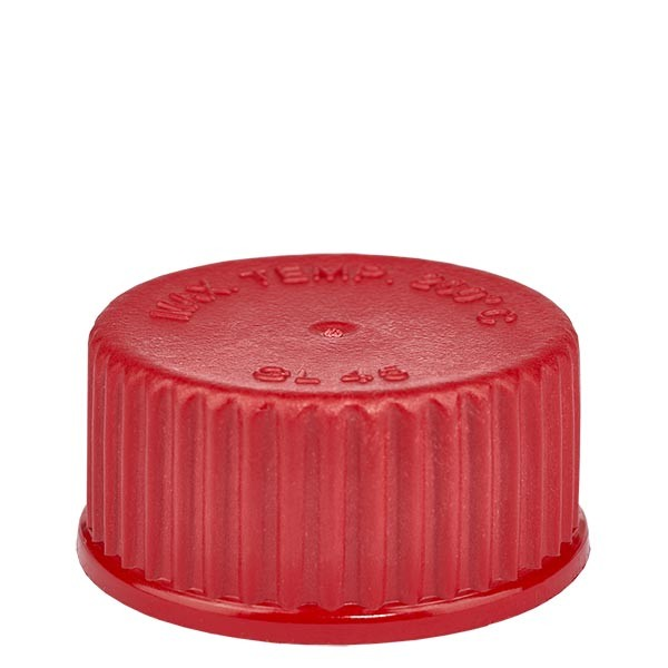 Bouchon à vis rouge - filetage GL 45