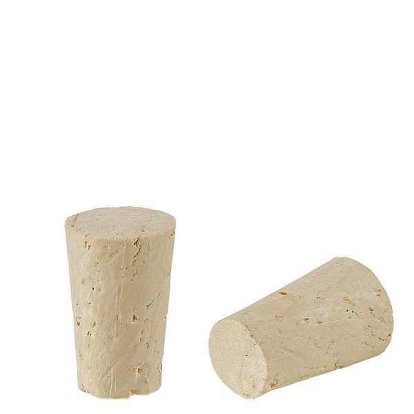 Bouchon de liège naturel (conique) 11/14mm, hauteur 21,5mm