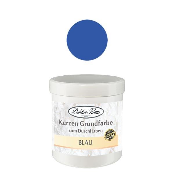 Couleur de base pour bougie bleu Doktor-Klaus, 7 g, en pot