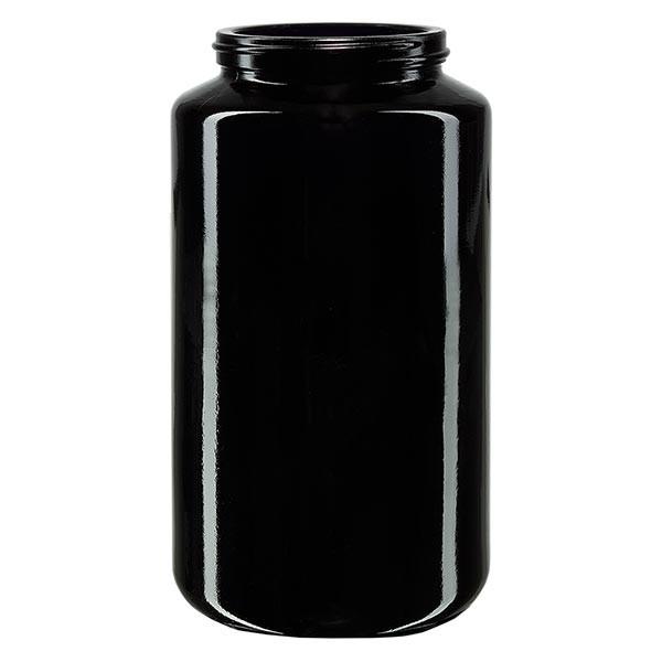 Pot violet 500 ml à large ouverture, avec filetage spécial, sans couvercle
