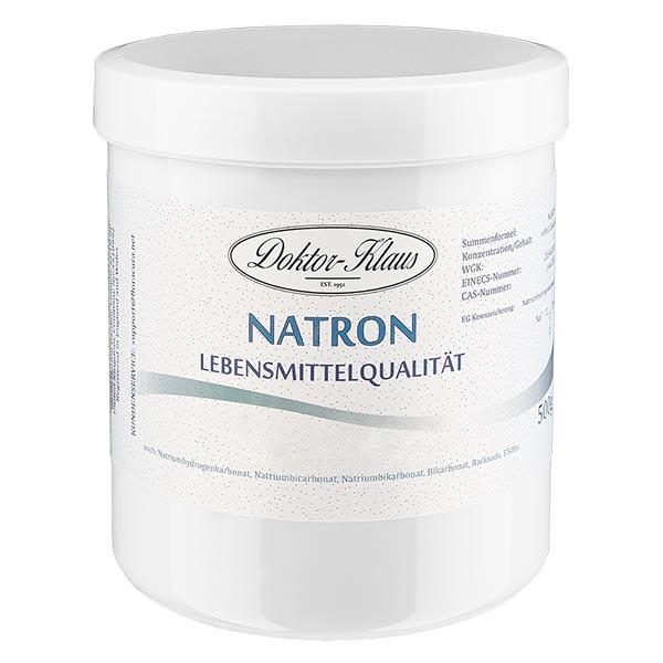 Bicarbonate de soude Doktor Klaus, en boîte blanche de 500 g, apte à l'utilisation alimentaire