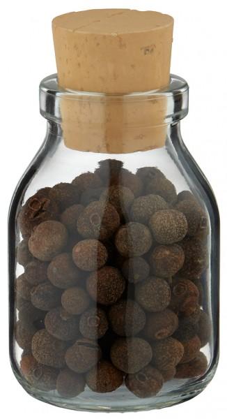 Idée de pot à épices : flacon Round clair 50 ml, avec bouchon de liège