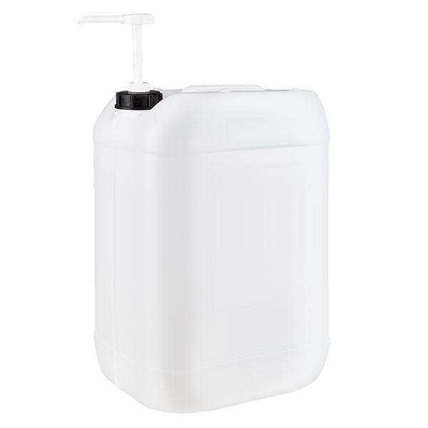 Jerrican de 25 litres avec pompe doseuse