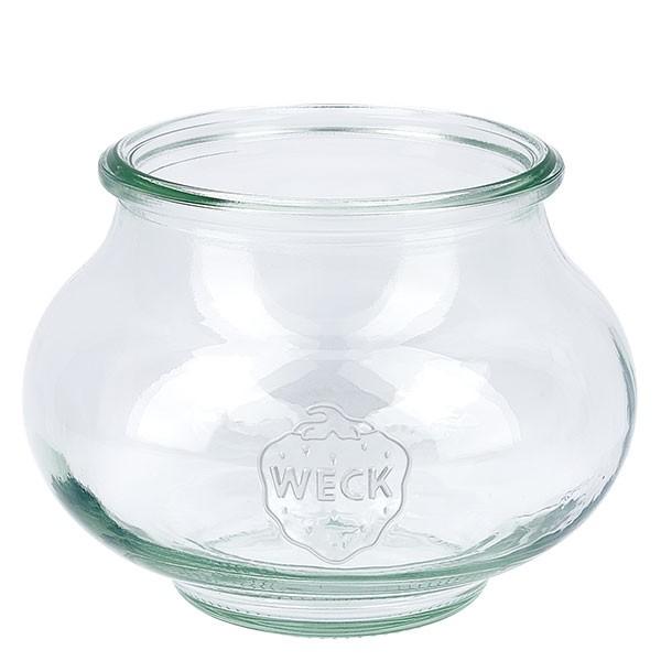 Bocal décoratif WECK 560 ml, pot seul