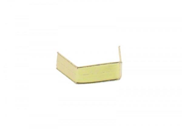 100 clips en papier, longueur 40, dorés
