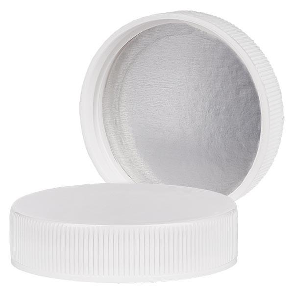 Bouchon à vis. 45mm blanc IHS avec joint en PE