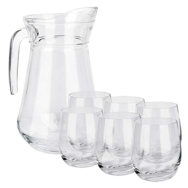 """Carafe """"France"""" 1,6 litres & 6 verres Doktor-Klaus"""