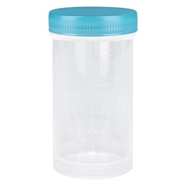 Pot en plastique multiusage de 100 ml
