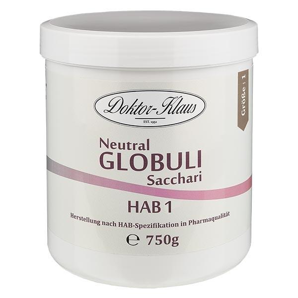 750g globules neutres HAB1, 100 % pure saccharose