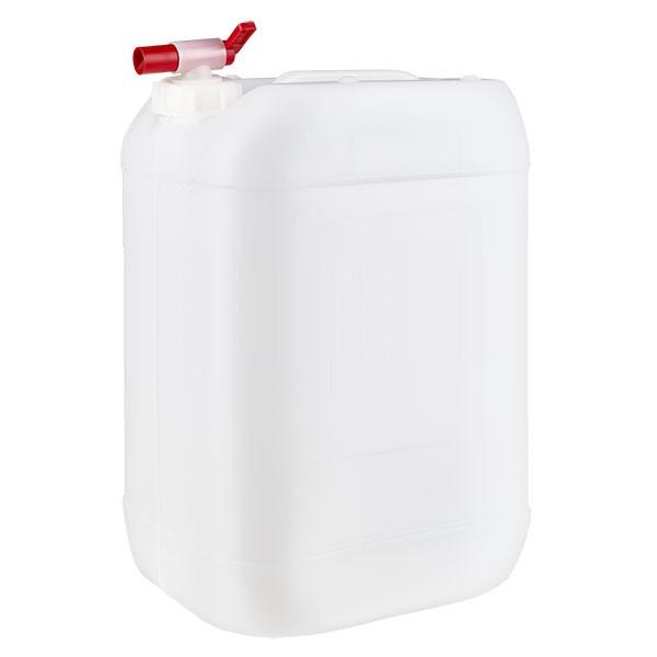 Jerrican de 25 litres avec robinet