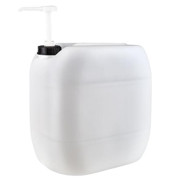 Jerrican de 30 litres avec pompe doseuse