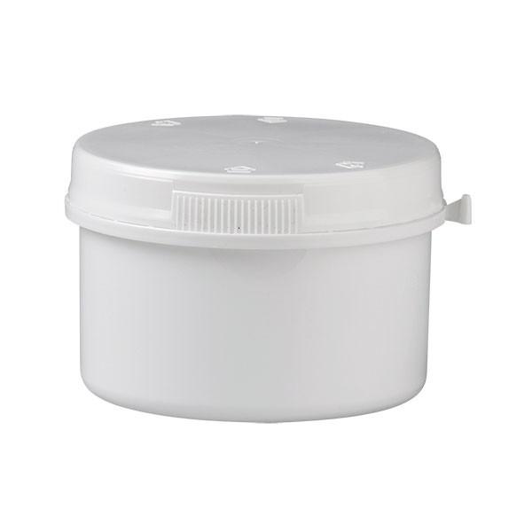 250 ml Schraubdose aus Kunststoff mit Press-On-Verschluss