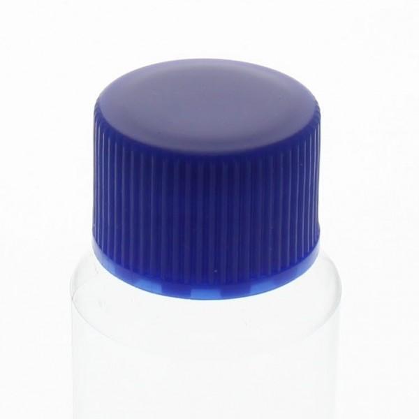 Bouchon à vis bleu avec joint en PE, S20x3