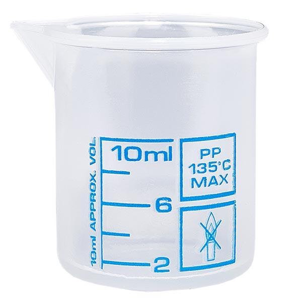 Verre mesureur en PP 10 ml