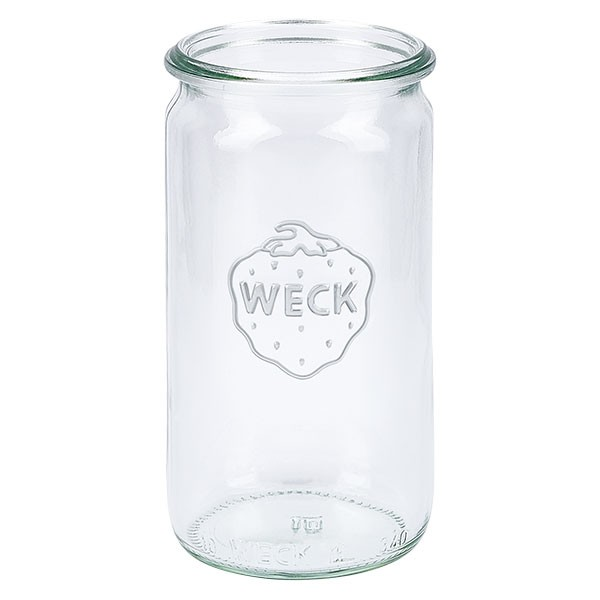 Mini bocal conique WECK 340 ml, taille de couvercle et anneau : RR60