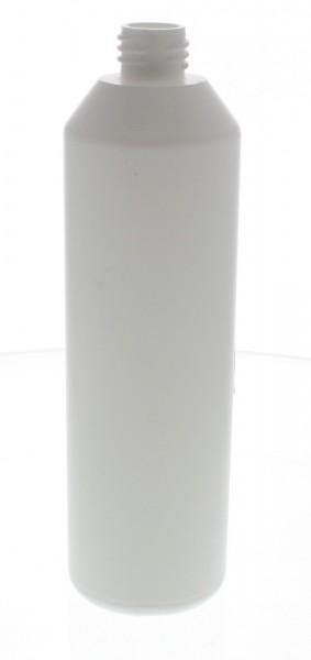 Flacon cylindrique en PET blanc 250 ml, S20x3, sans bouchon