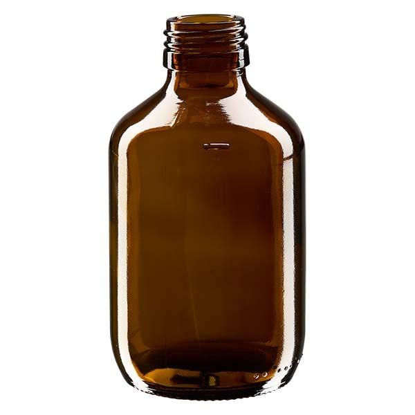 Flacon médical 200 ml couleur ambrée, PP 28