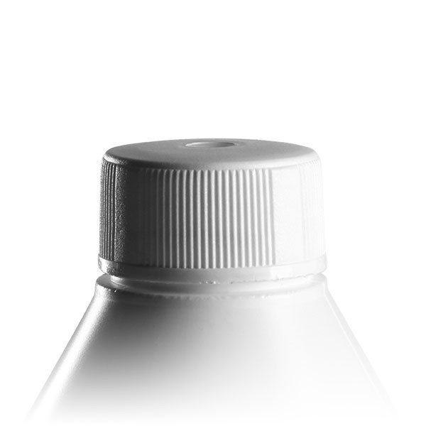 Schraubverschluss ND32 weiss für Lotionsflaschen